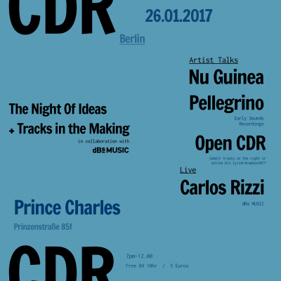CDR and dBs Music Berlin