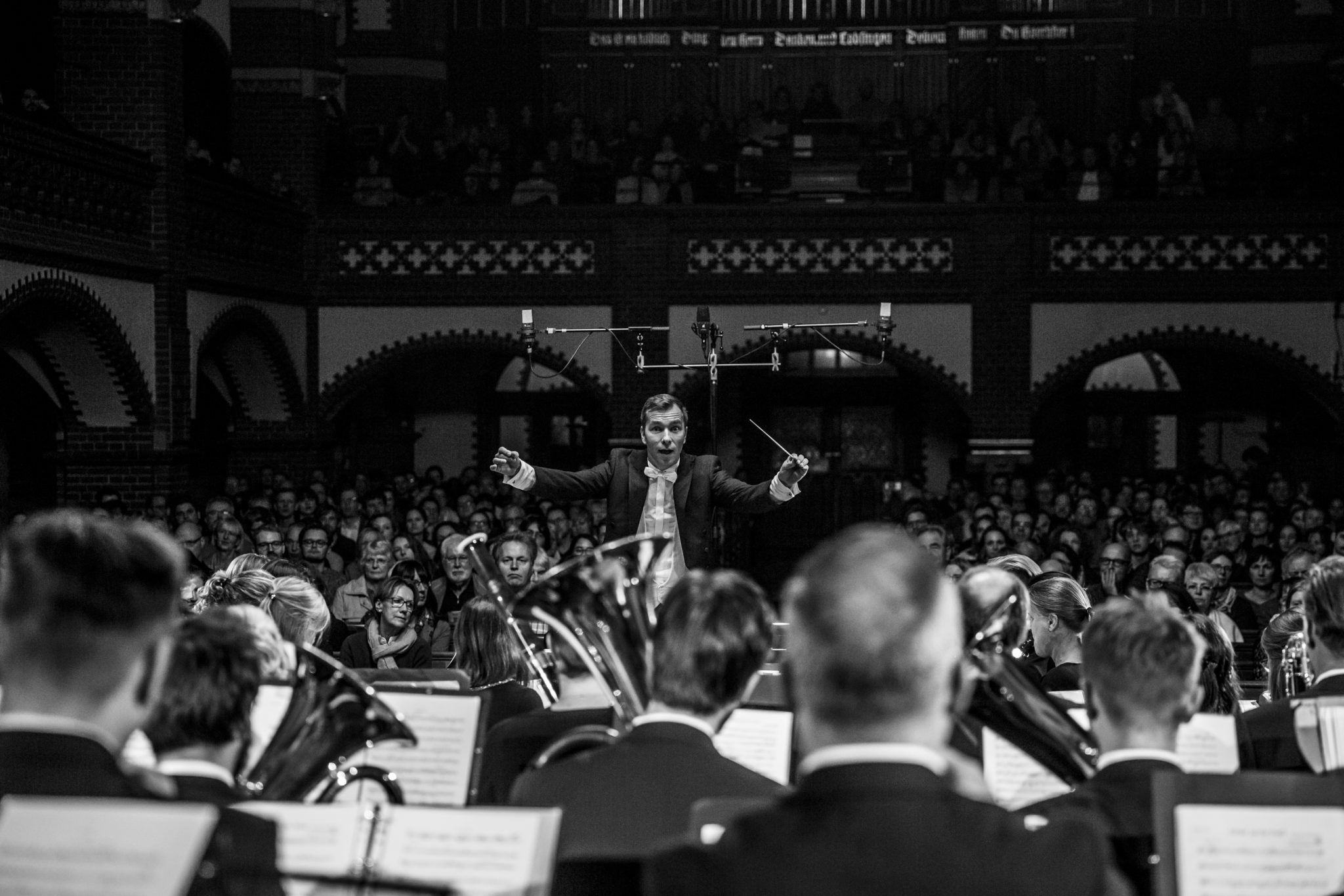 Picture Stories: Sound Engineering Students Record Junges Ensemble Berlin Orchestra